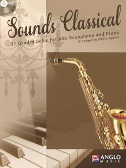Sounds Classical - Saxophone Alto et Piano - laflutedepan.com
