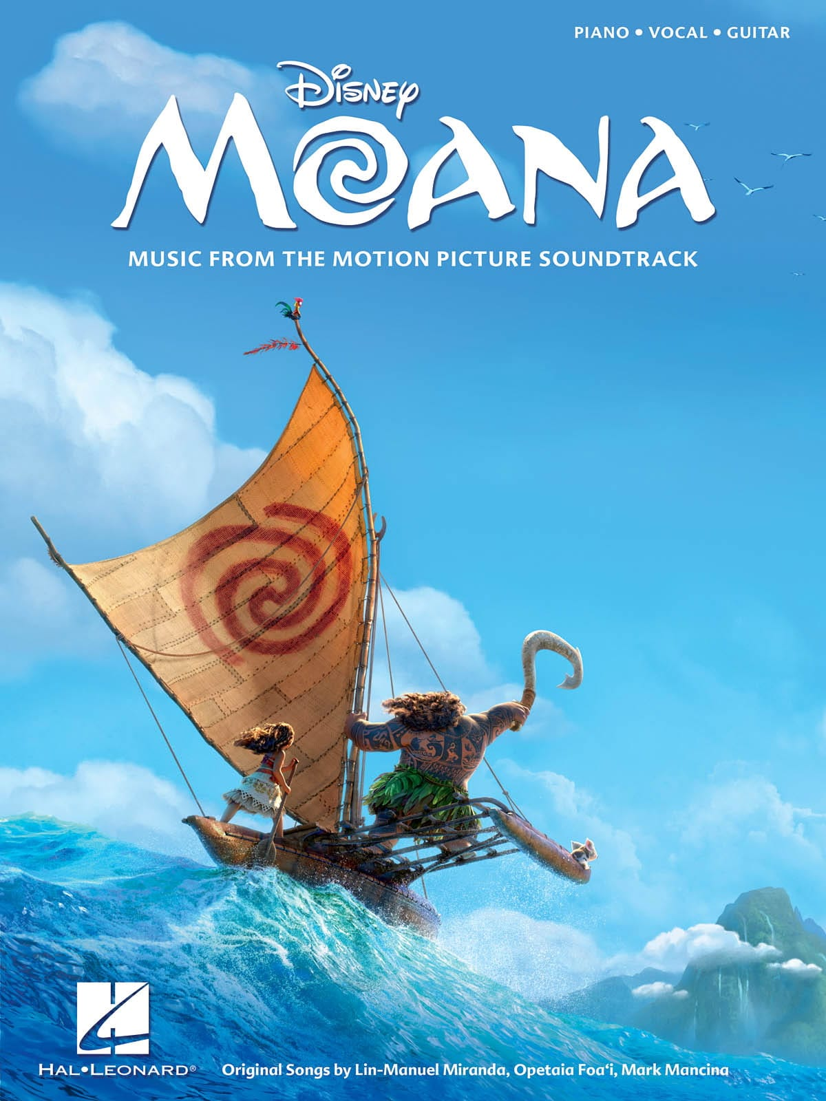 DISNEY - Vaiana - Movie Music - Partition - di-arezzo.com