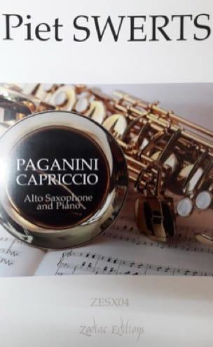 Piet Swerts - Paganini Capriccio - Partition - di-arezzo.co.uk