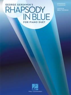 Rhapsody in Blue - Piano 4 Mains - GERSHWIN - laflutedepan.com