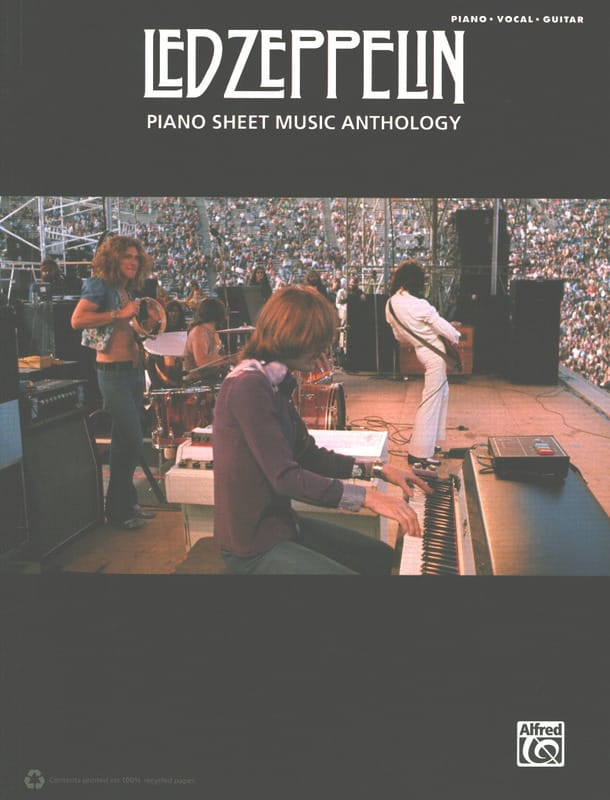 Led Zeppelin - Led Zeppelin - Anthology Sheet Music - Partition - di-arezzo.co.uk
