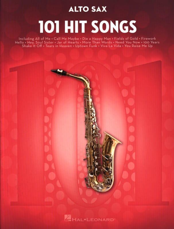 101 Hit Songs for Alto Sax - Partition - laflutedepan.com
