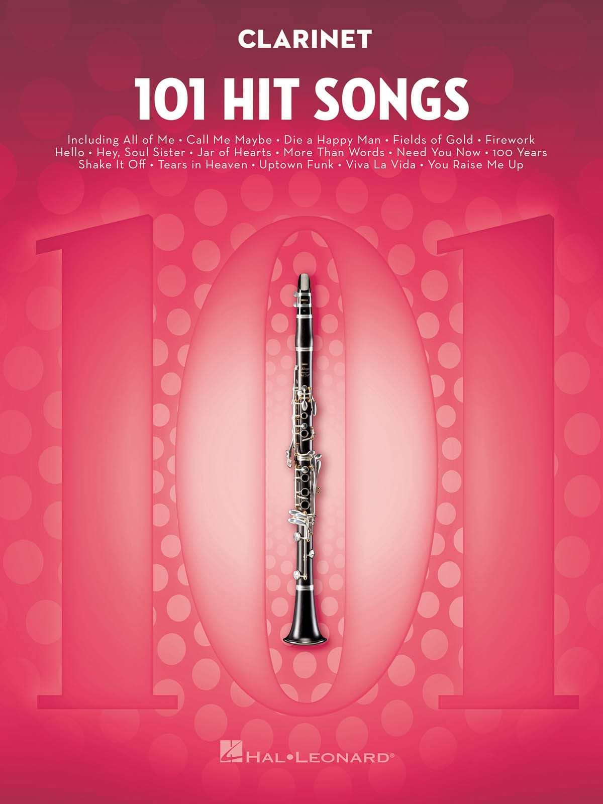 101 Hit Songs for Clarinet - Partition - laflutedepan.com
