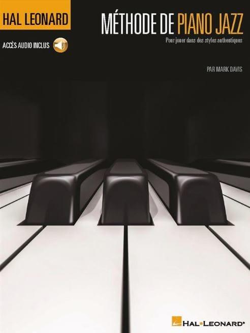 Méthode de piano jazz - Mark Davis - Partition - laflutedepan.com