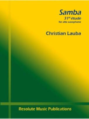 Christian Lauba - Samba - 31ème Etude - Partition - di-arezzo.fr