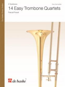 14 Easy Trombone Quartets - Pascal Proust - laflutedepan.com