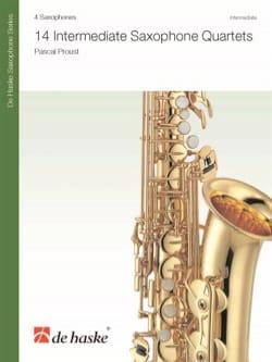 14 Intermediate Saxophone Quartets - Pascal Proust - laflutedepan.com