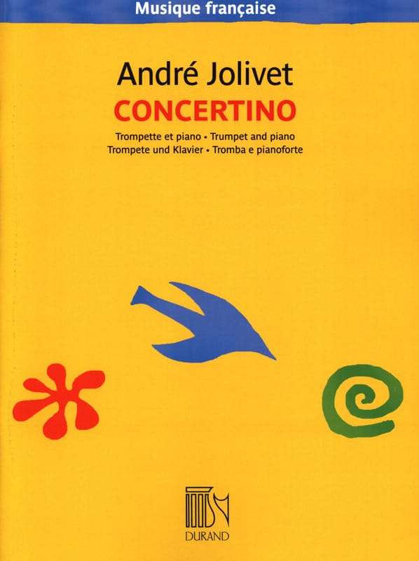 André Jolivet - Concertino for Trumpet - Partition - di-arezzo.co.uk