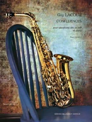 Confluences - Guy Lacour - Partition - Saxophone - laflutedepan.com