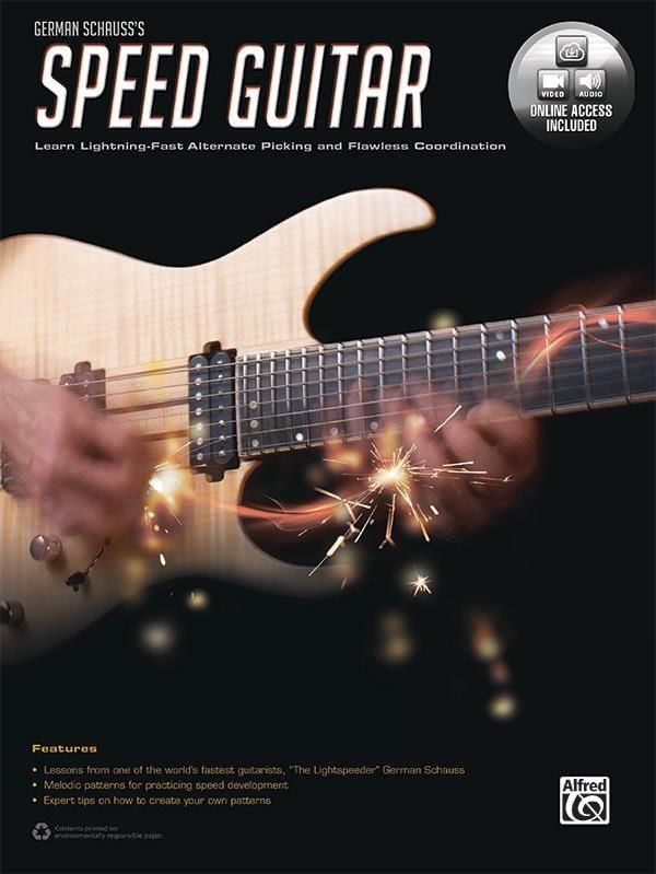 Speed Guitar - German Schauss - Partition - Guitare - laflutedepan.com