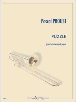 Puzzle - Pascal Proust - Partition - Trombone - laflutedepan.com