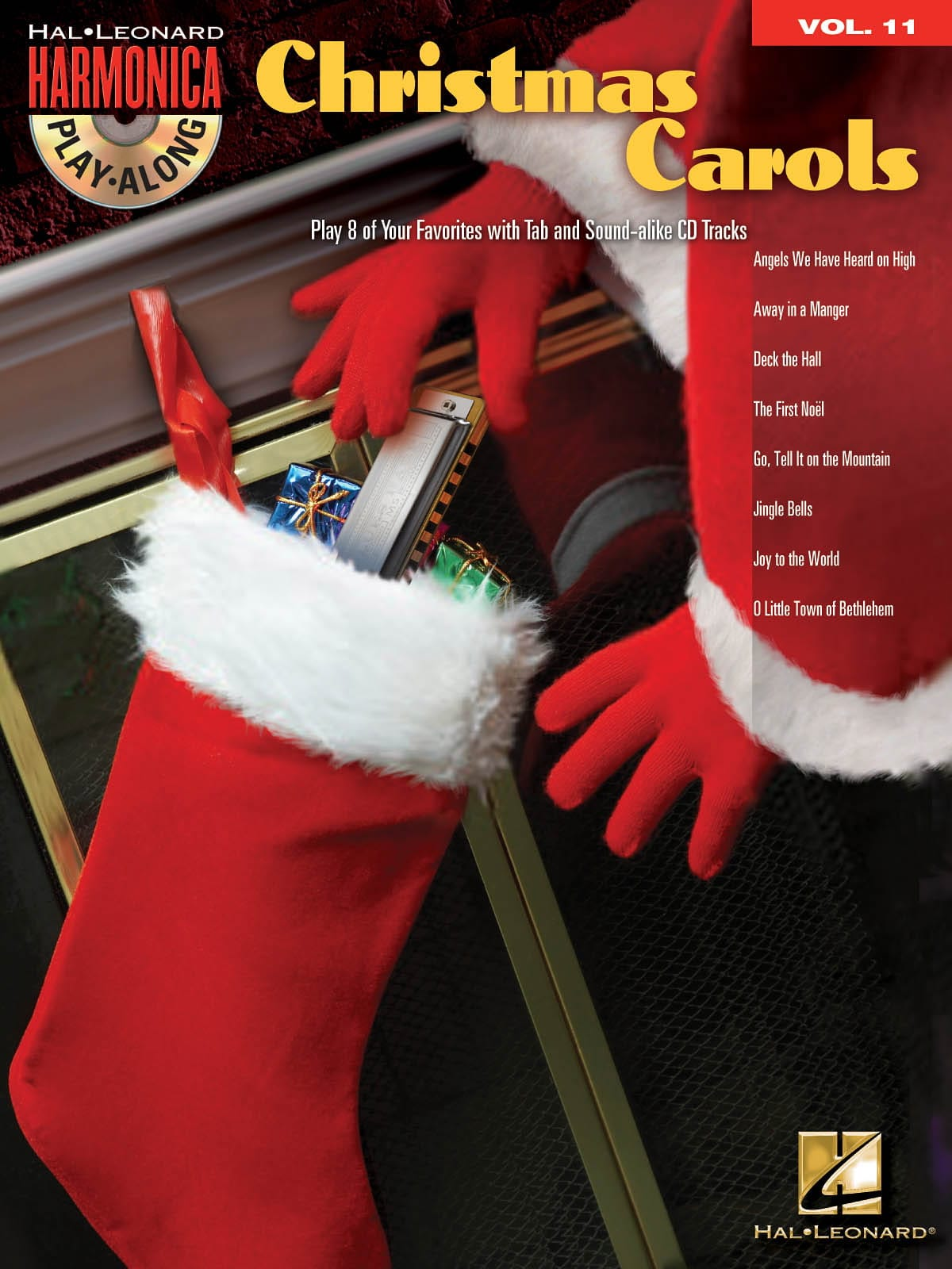Noël - Harmonica Play-Along Volume 11 - Christmas Carols - Partition - di-arezzo.fr
