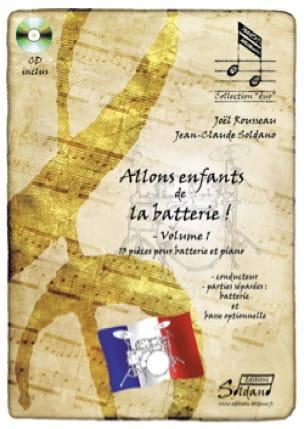 Joel Rousseau & Jean-Claude Soldano - Let's go kids from the drums! - Volume 1 - Partition - di-arezzo.com