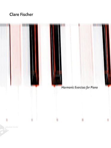 Harmonic Exercises for Piano - Clare Fischer - laflutedepan.com