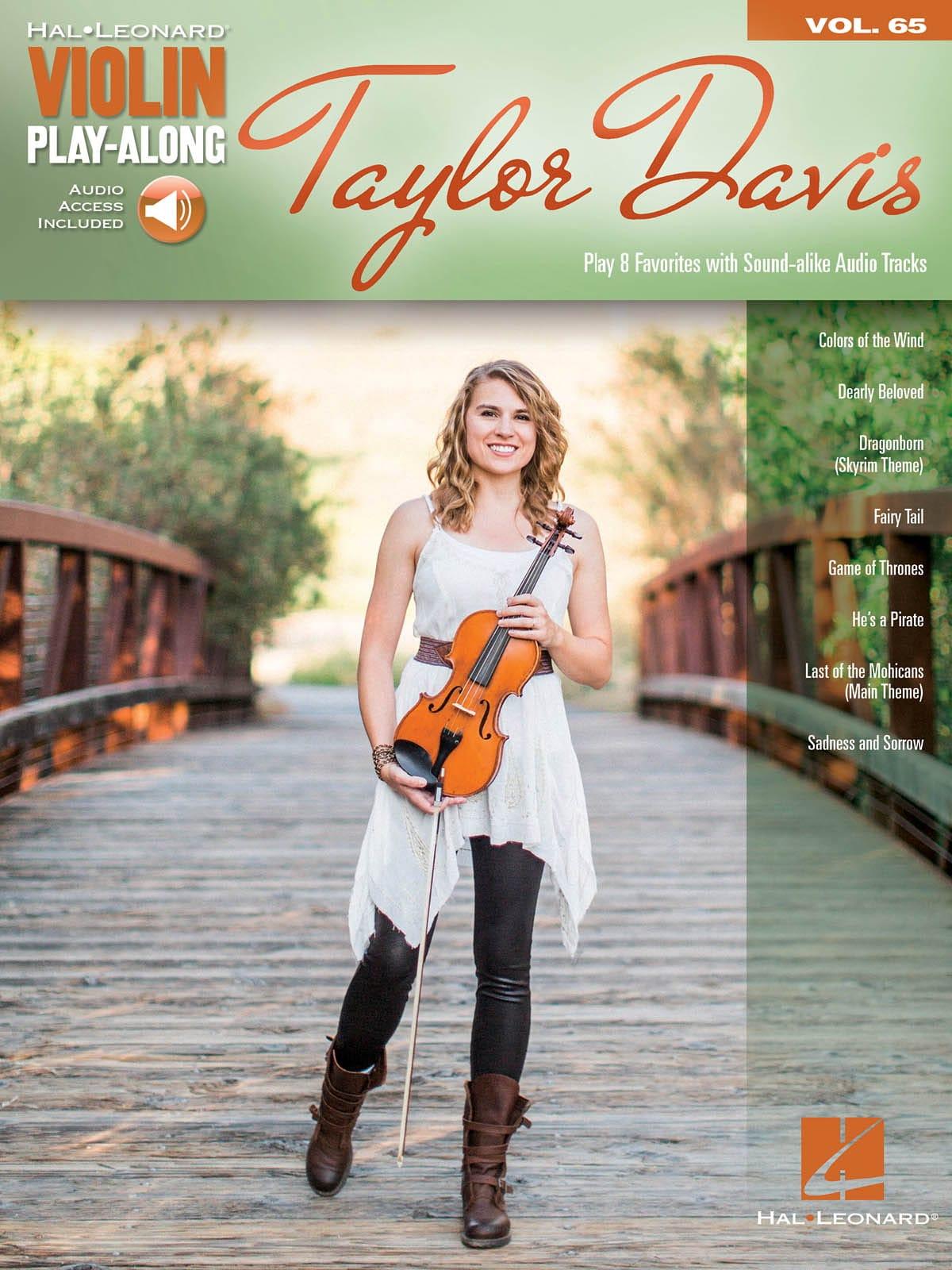 Violin Play-Along Volume 65 - Taylor Davis - laflutedepan.com