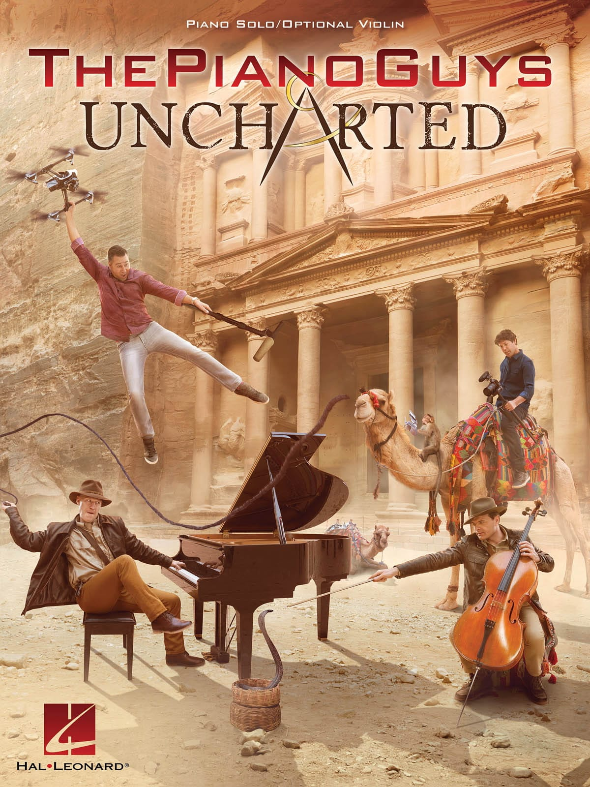 The Piano Guys - Uncharted - ThePianoGuys - laflutedepan.com