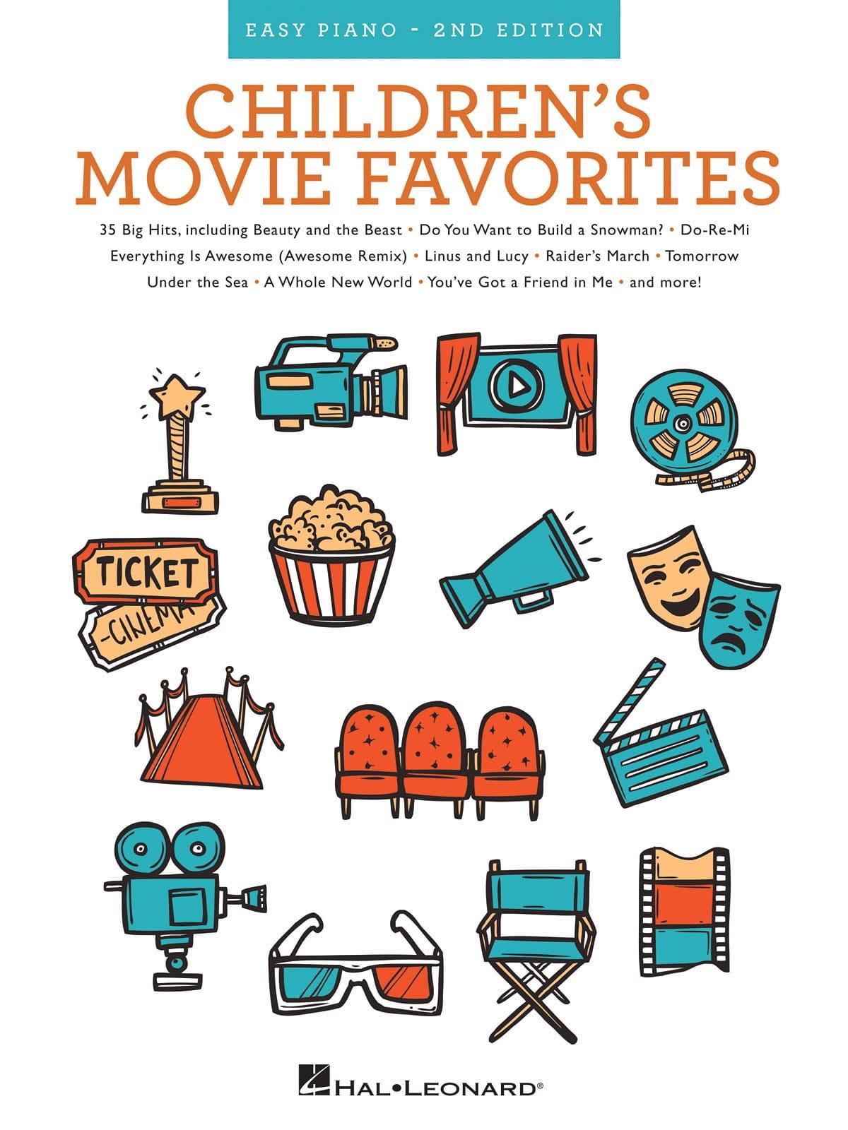 Children's Movie Favorites - 2nd Edition, Piano Facile - laflutedepan.com