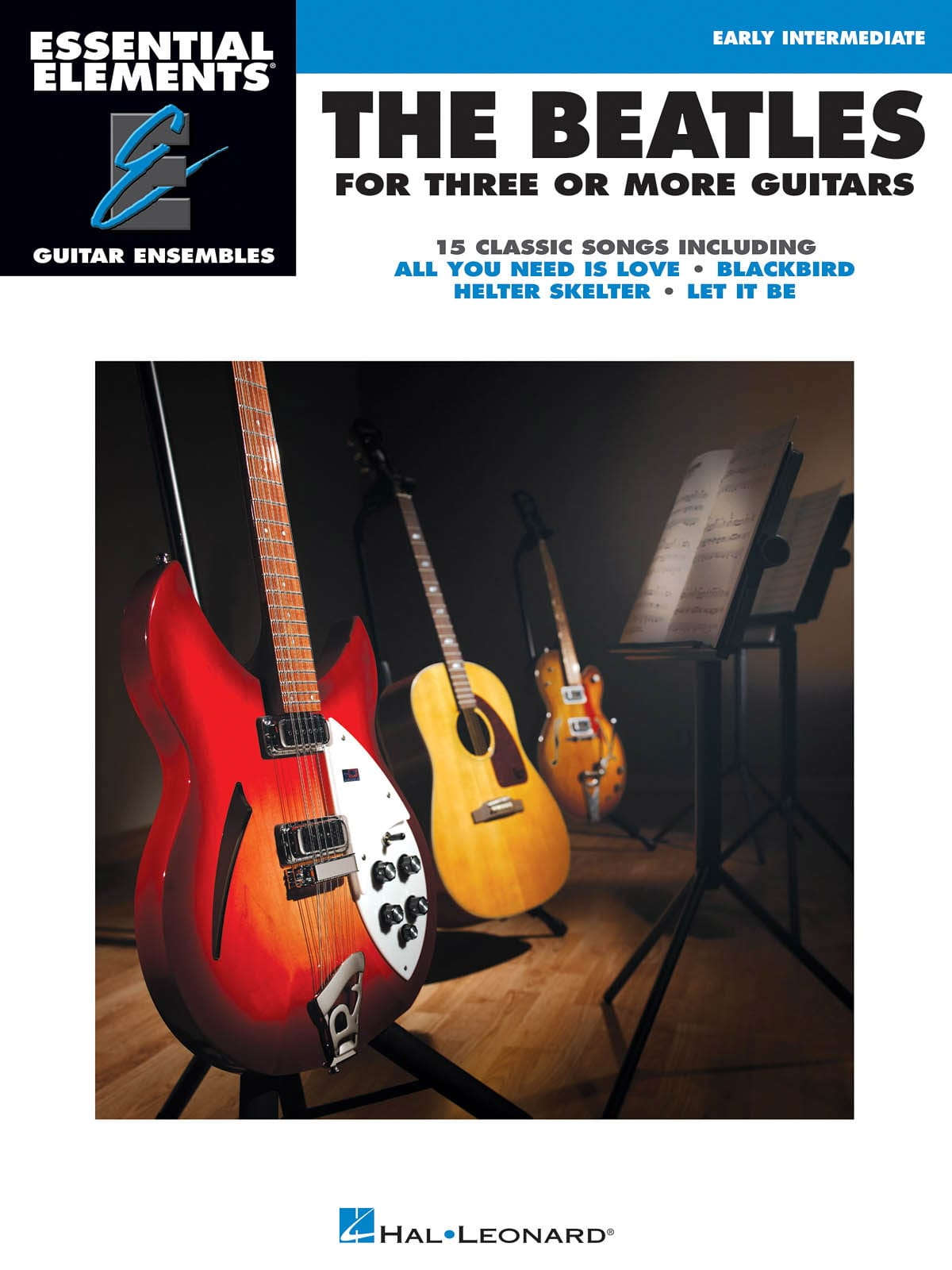 BEATLES - The Beatles for 3 or More Guitars - Partition - di-arezzo.com