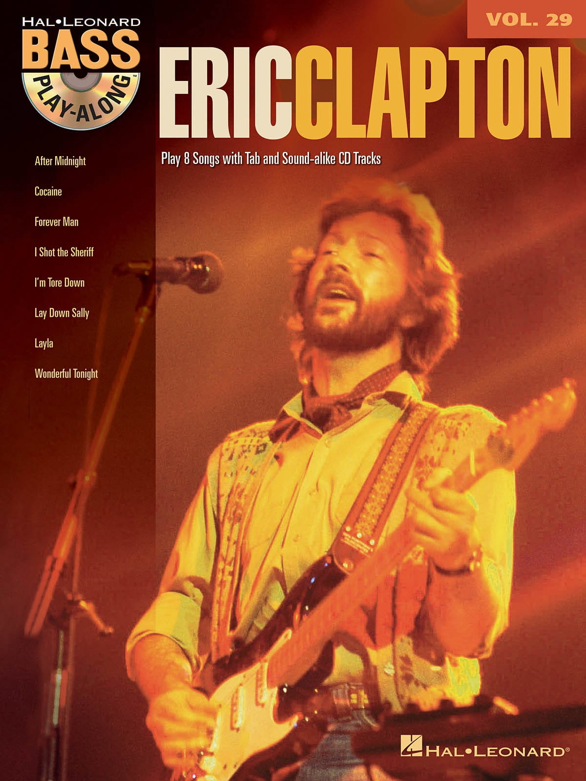 Eric Clapton - Bass Play-Along Volumen 29 - Eric Clapton - Partition - di-arezzo.es