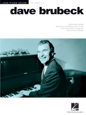 Jazz Piano Solos Series Volume 42 - Dave Brubeck - laflutedepan.com