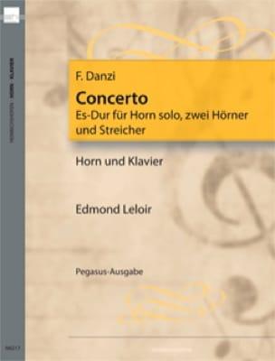Concerto Es-Dur - Franz Danzi - Partition - Cor - laflutedepan.com