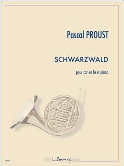 Schwarzwald - Pascal Proust - Partition - Cor - laflutedepan.com