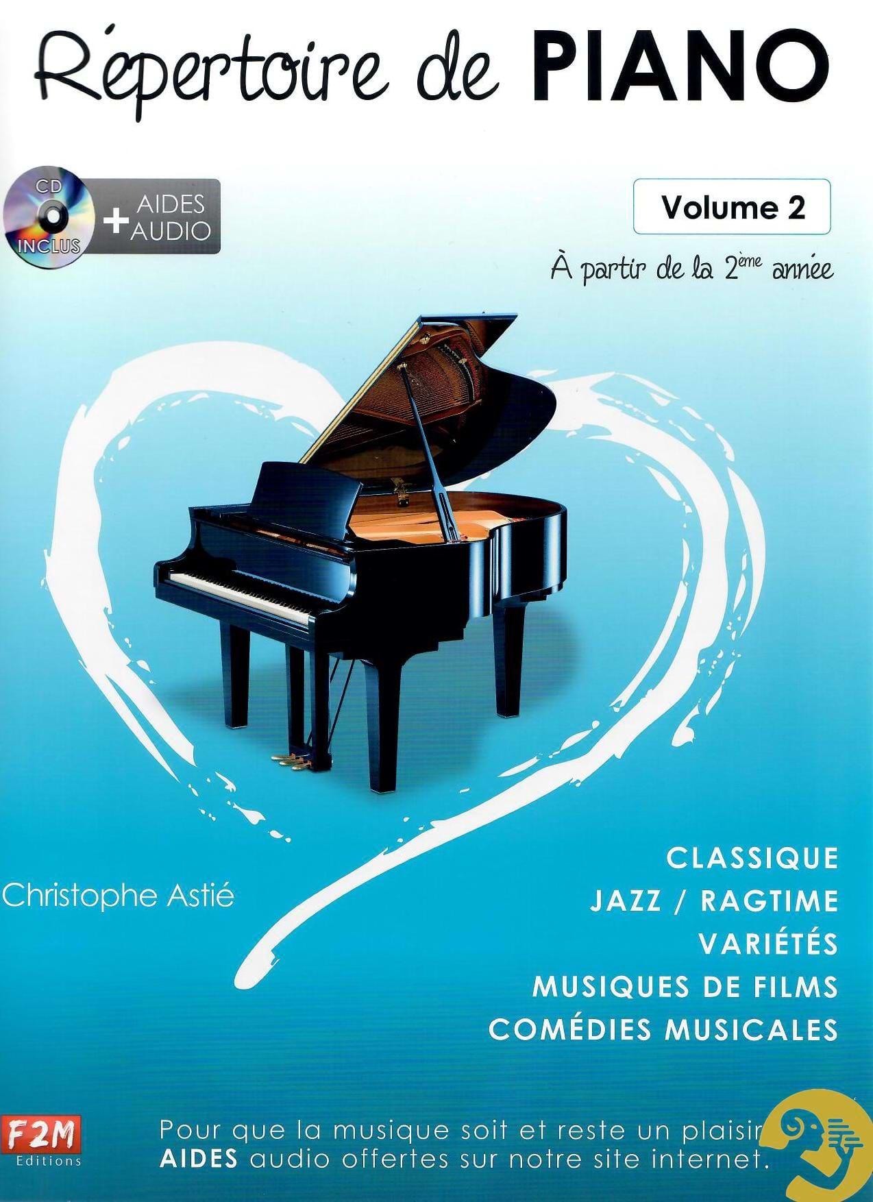 Christophe Astié - Piano Directory Volume 2 - Partition - di-arezzo.com