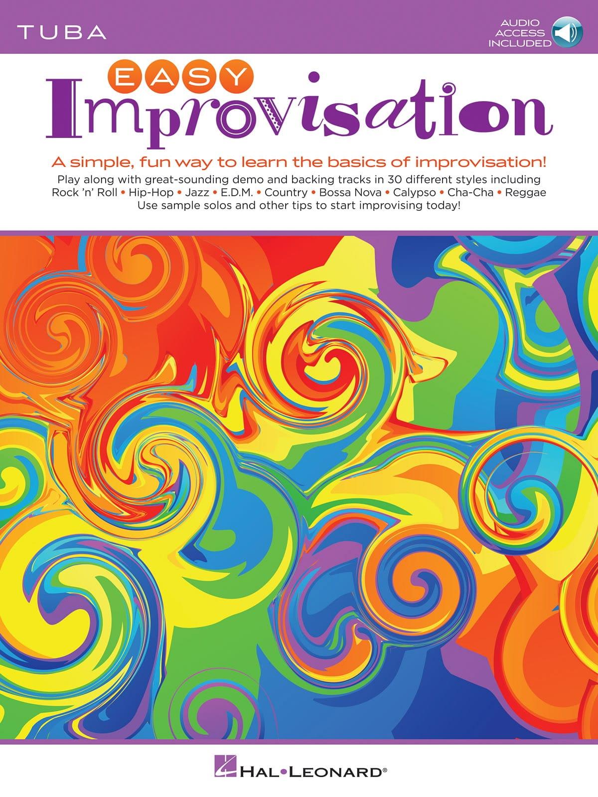 Easy Improvisation for Tuba - Peter Deneff - laflutedepan.com