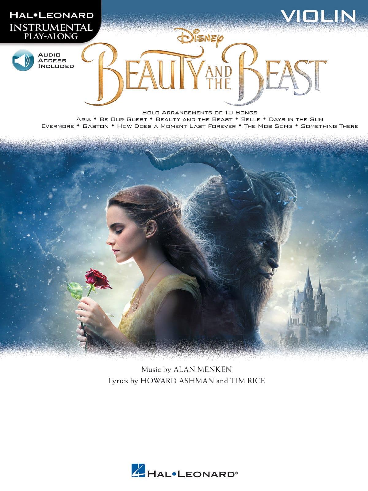 DISNEY - La bella y la bestia - Música de cine - Partition - di-arezzo.es
