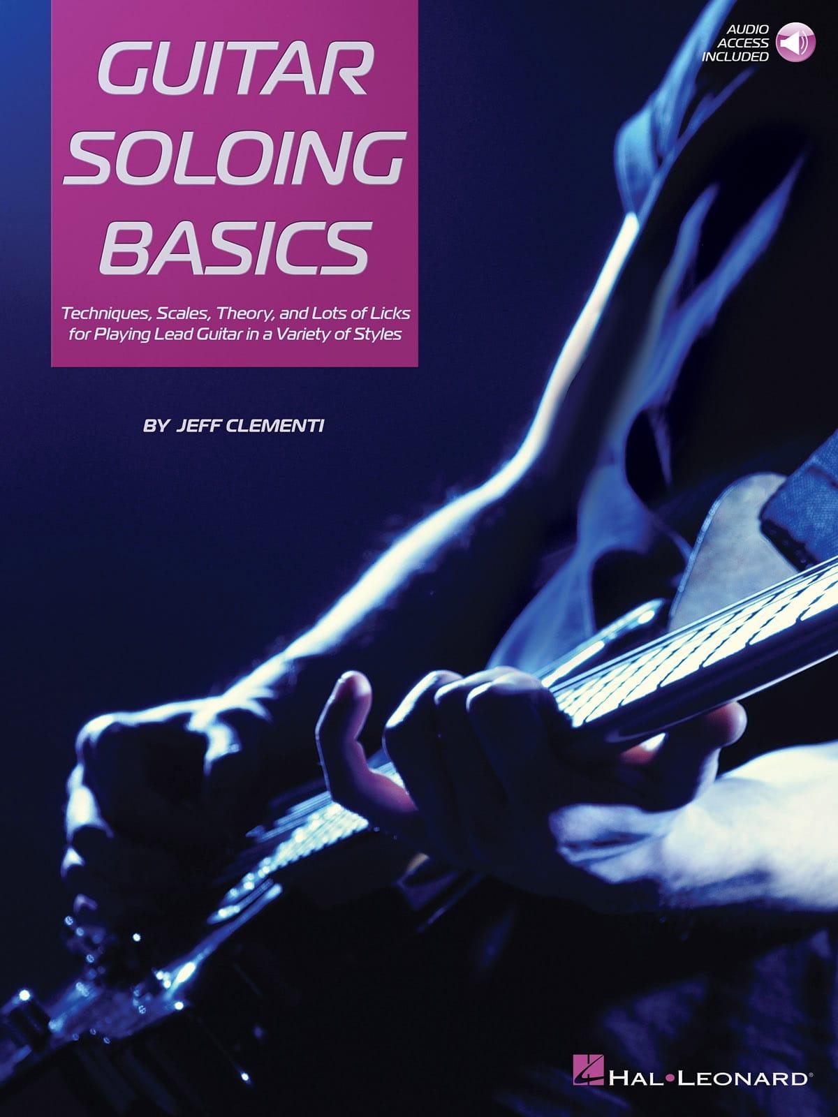 Guitar Soloing Basics - Jeff Clementi - Partition - laflutedepan.com