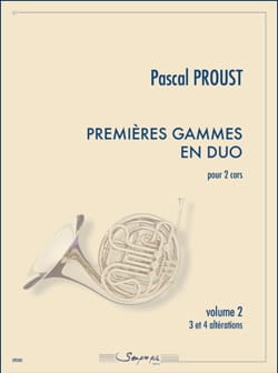 Pascal Proust - First Duo Ranges - Volume 2 - Partition - di-arezzo.com