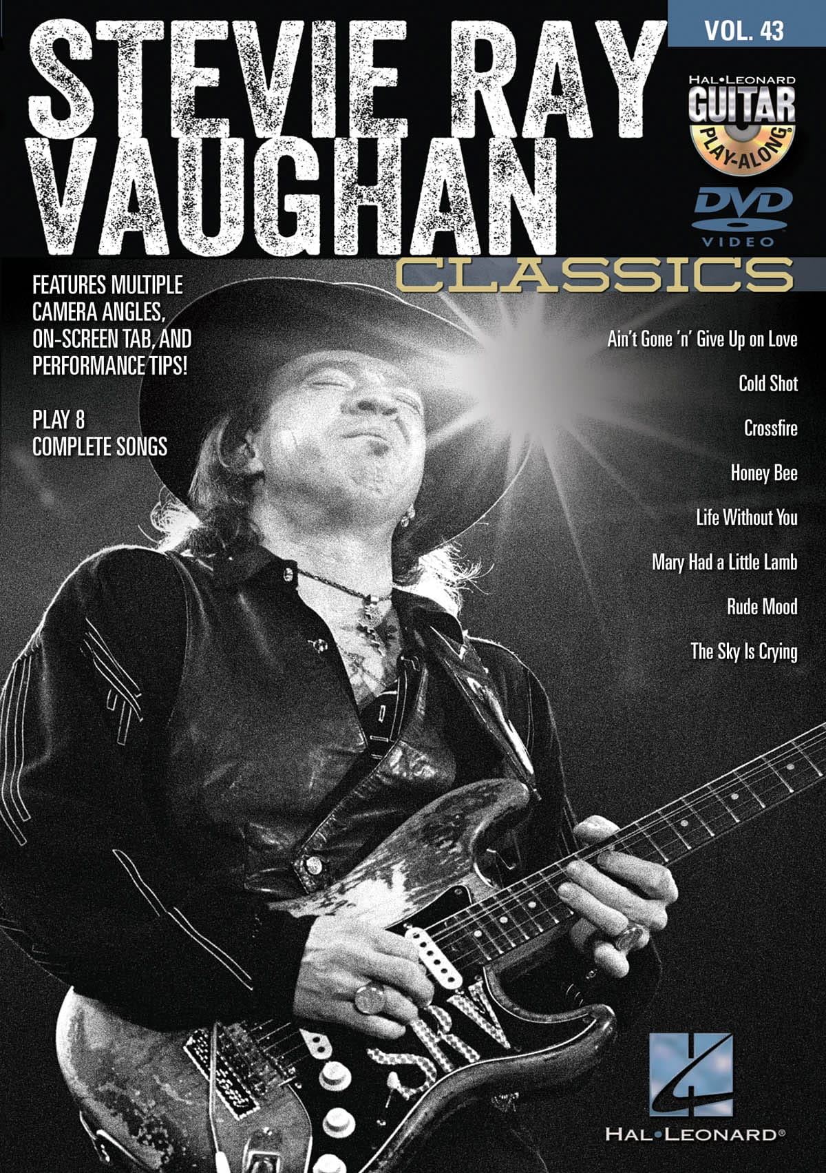 Stevie Ray Vaughan - Stevie Ray Vaughan Classics - Guitar Play Along DVD Volume 43 - Partition - di-arezzo.co.uk