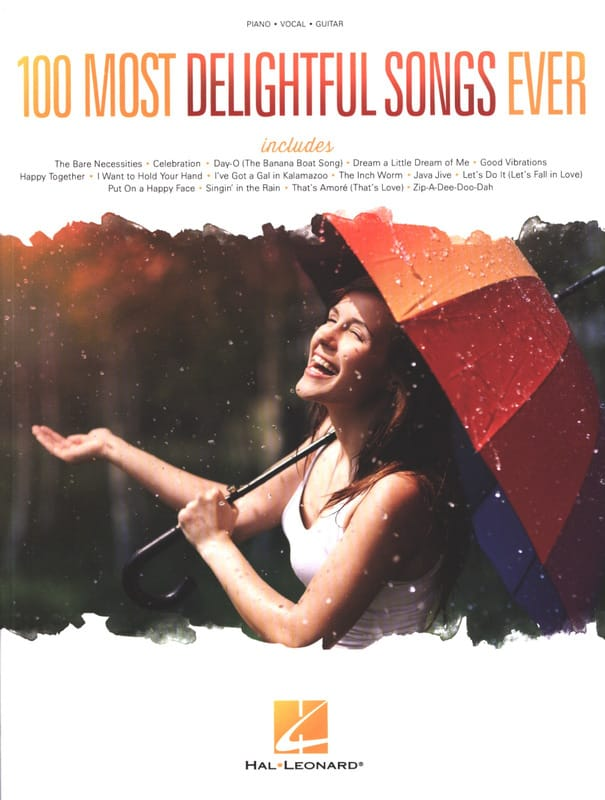 100 Most Delightful Songs Ever - Partition - laflutedepan.com