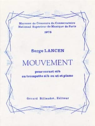 Serge Lancen - Movement - Partition - di-arezzo.co.uk