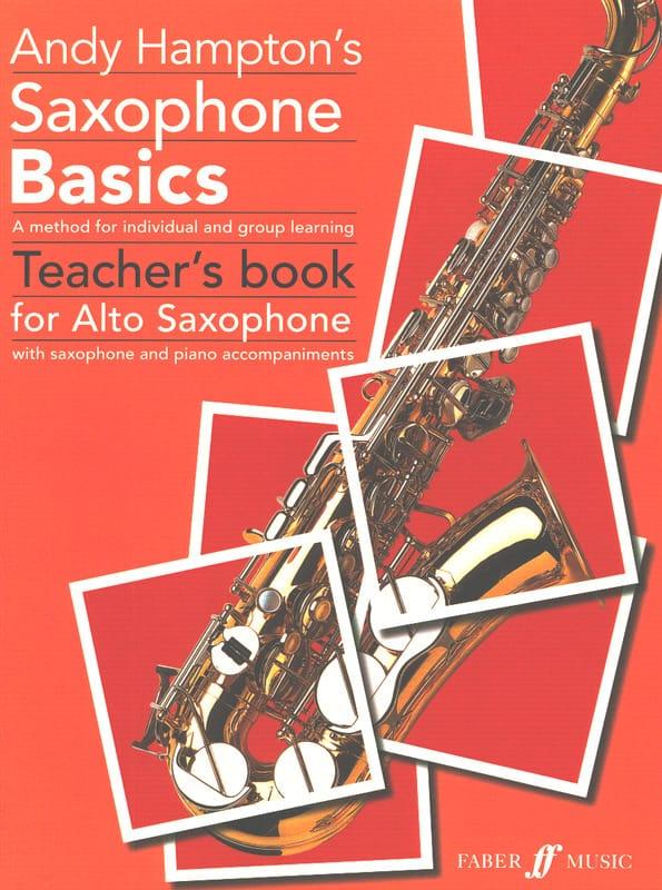 Les Bases du Saxophone - Livre professeur - laflutedepan.com