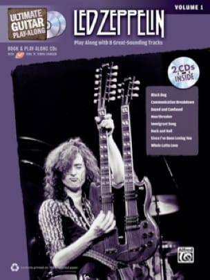 Led Zeppelin - Ultimate Guitar Play Along - Led Zeppelin Volume 1 - Partition - di-arezzo.co.uk