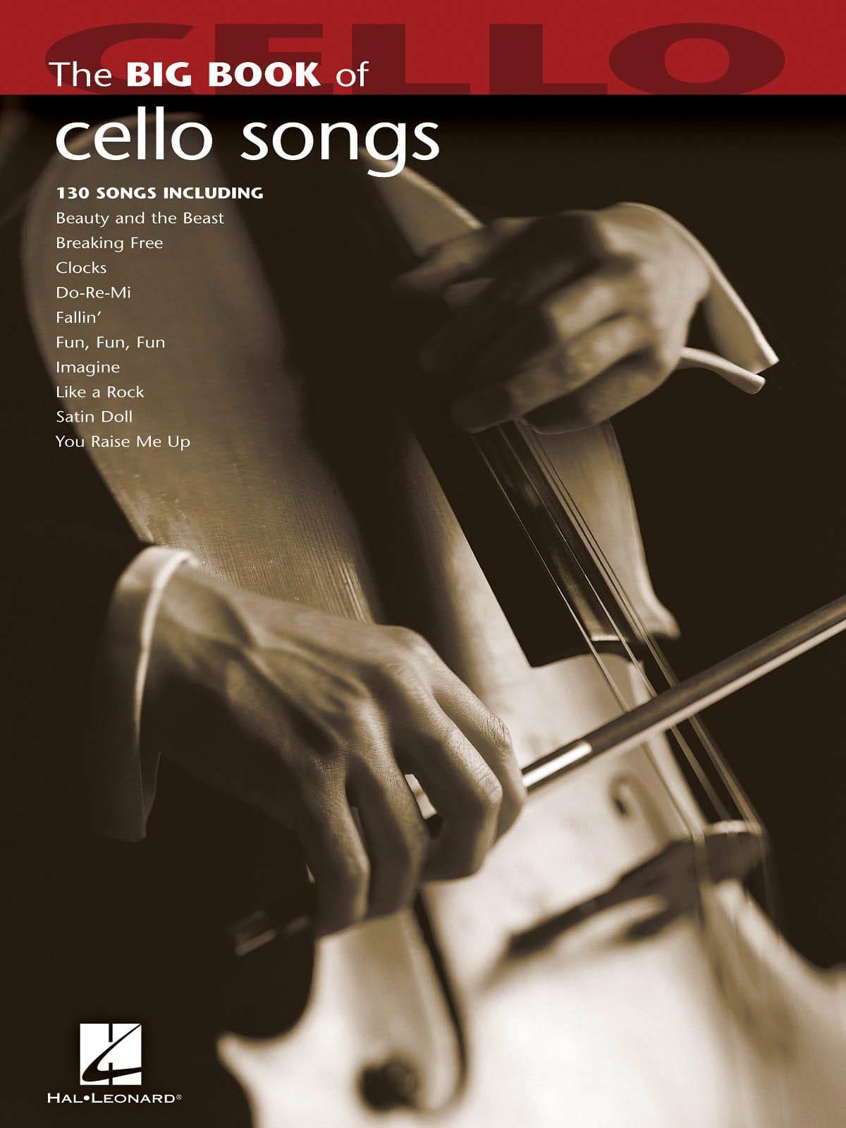 The Big Book of Cello Songs - Partition - laflutedepan.com