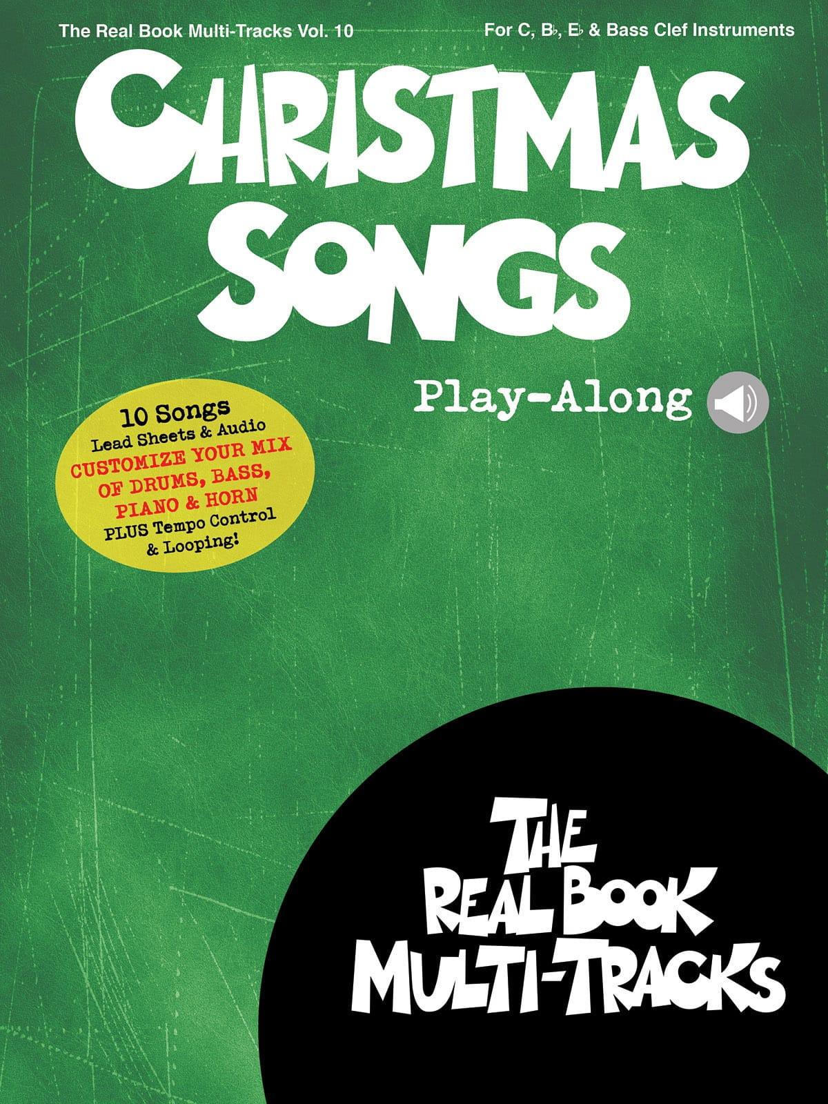 Real Book Multi-Tracks Volume 10 - Christmas Songs Play-Along - laflutedepan.com