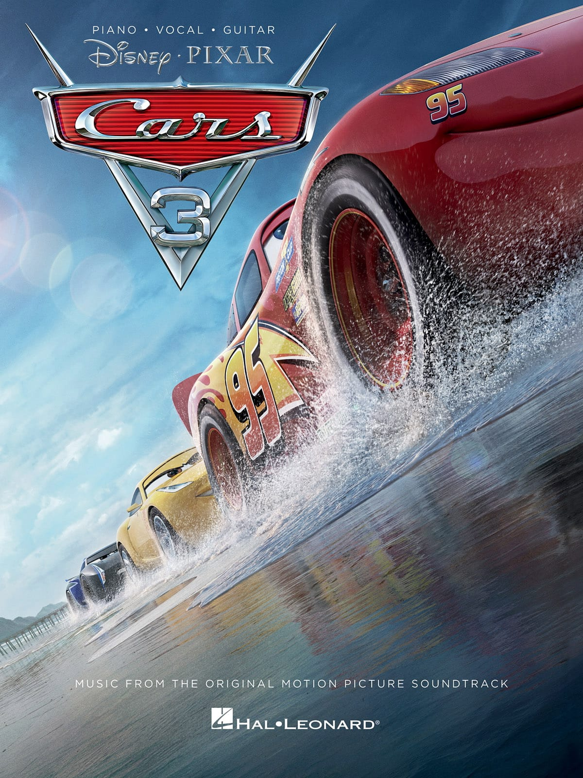 DISNEY / PIXAR - Cars 3 - Movie Music - Partition - di-arezzo.it
