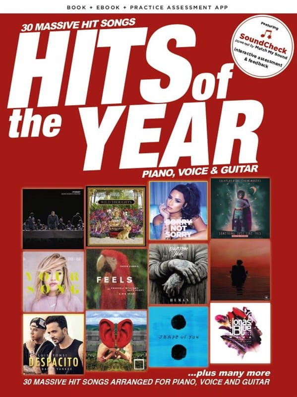 Hits Of The Year 2017 - Partition - Pop / Rock - laflutedepan.com
