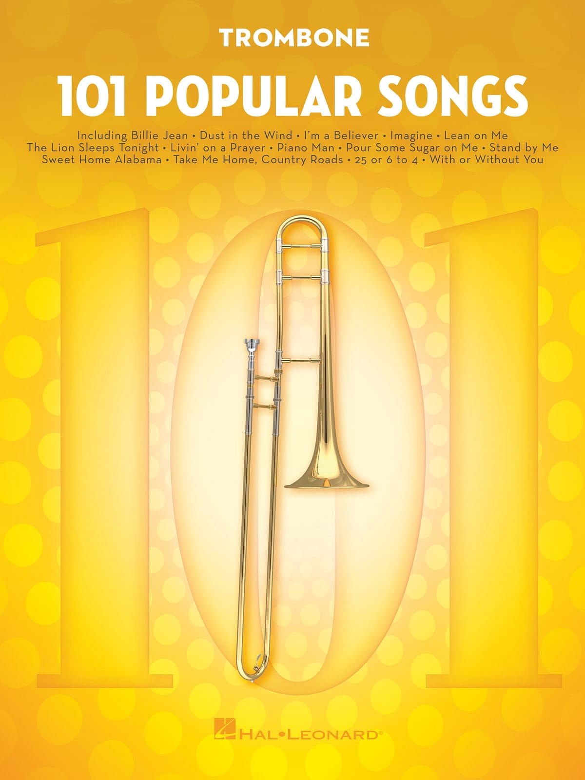 101 Popular Songs - Partition - Trombone - laflutedepan.com