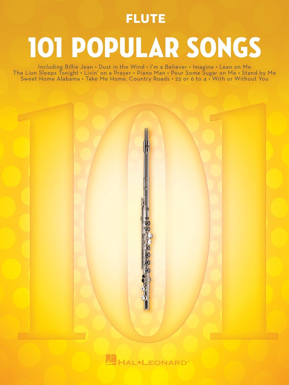 101 Popular Songs - Partition - laflutedepan.com