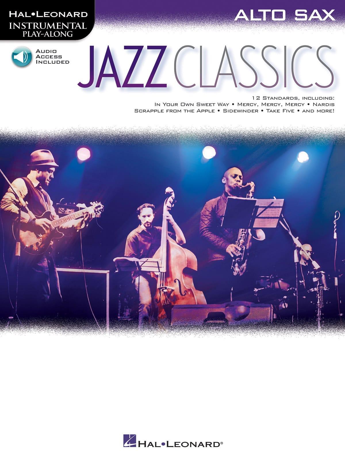 Jazz Classics - Partition - Saxophone - laflutedepan.com