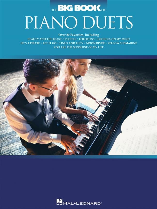 The Big Book of Piano Duets - Partition - Piano - laflutedepan.com