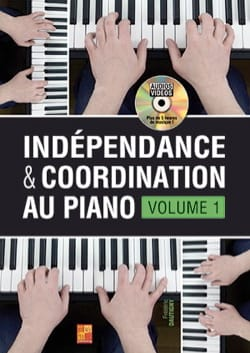Frédéric Dautigny - Independence - piano coordination - Volume 1 - Partition - di-arezzo.co.uk