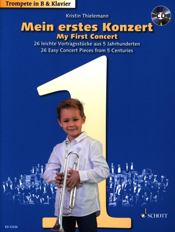 Mon Premier Concert - Partition - Trompette - laflutedepan.com