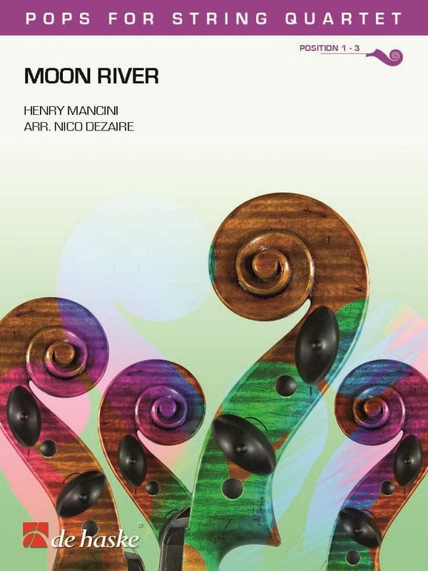 Moon River - Pops for String Quartet - MANCINI - laflutedepan.com