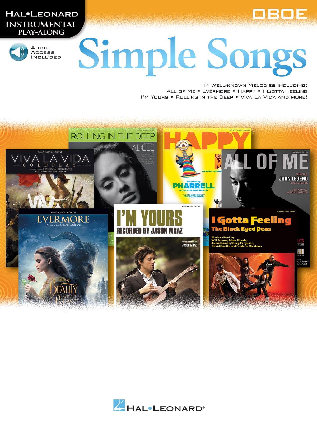 Simple Songs - Partition - Hautbois - laflutedepan.com