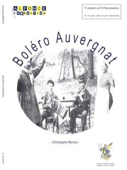 Christophe Merzet - Auvergnat bolero - Partition - di-arezzo.com