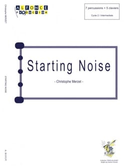 Christophe Merzet - Starting Noise - Partition - di-arezzo.com